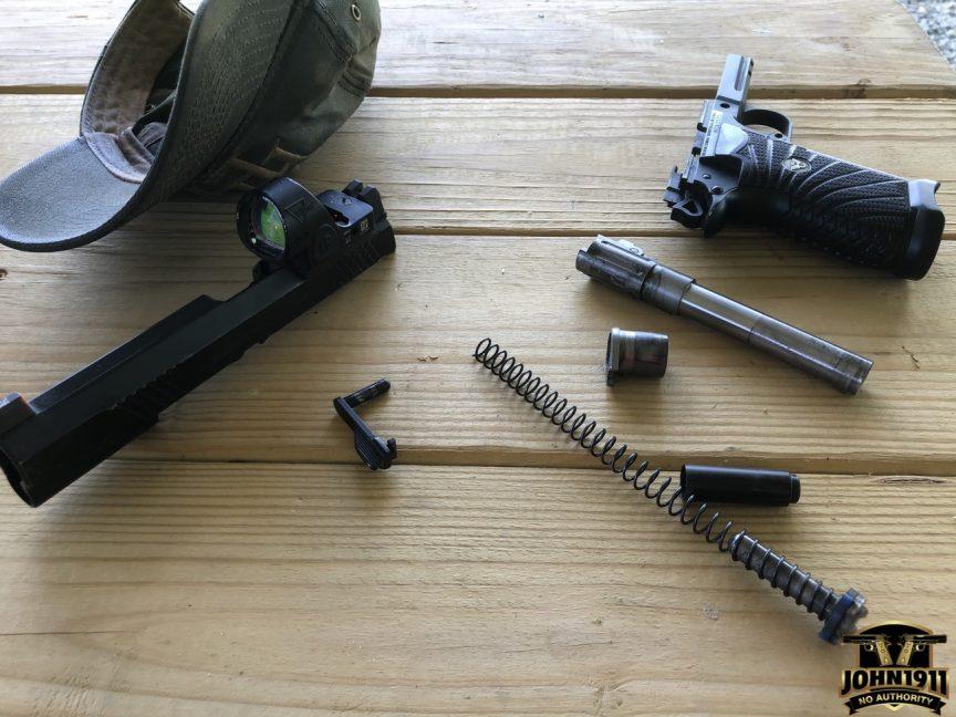 EDC X9L Takedown on Range