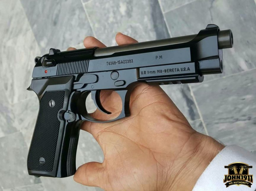 Pakistani Copy / Clone Beretta 92 M9 Pistol.
