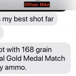 0.14 MOA Group. FBI HT Rifle by GAP.