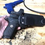 Modifying Keeper's Concealment Holster. Wilson EDC X9L Holster.