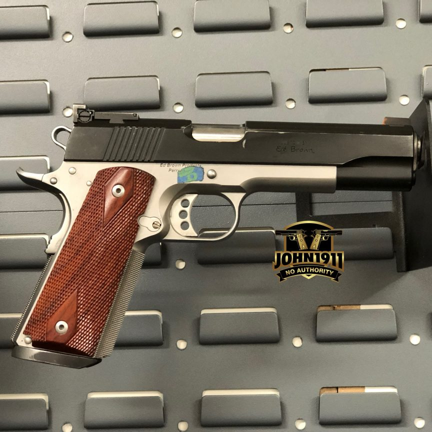 Ed Brown 1911 9mm - How Saturday Went