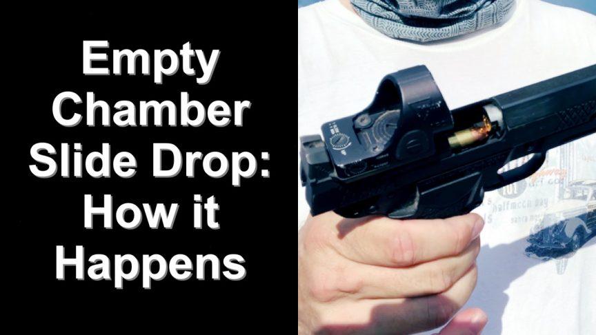 1911: Empty Chamber slide drop how it happens.