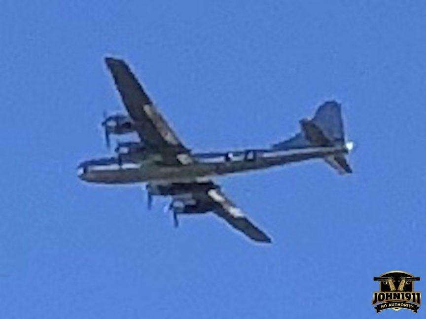 B-29 Bomber over John1911 Range