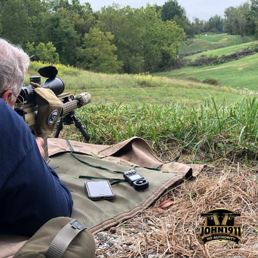 DOC shooting SCAR-20s Thunder Beast