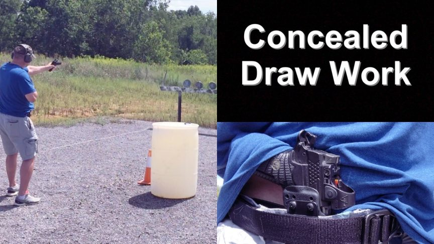 Concealed Draw Work