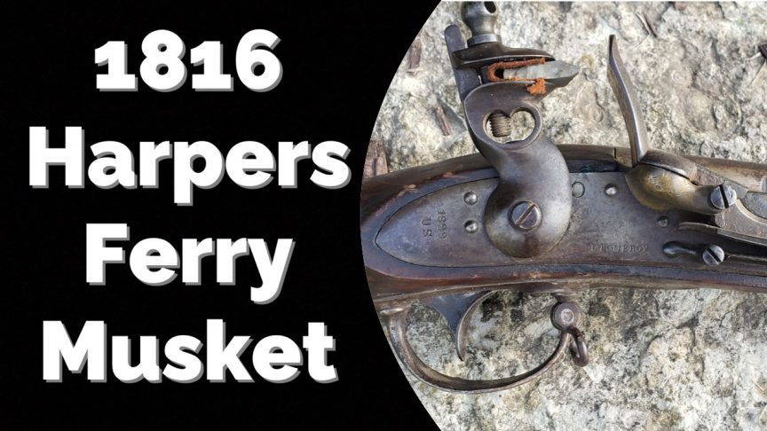 1816 Harpers Ferry Musket