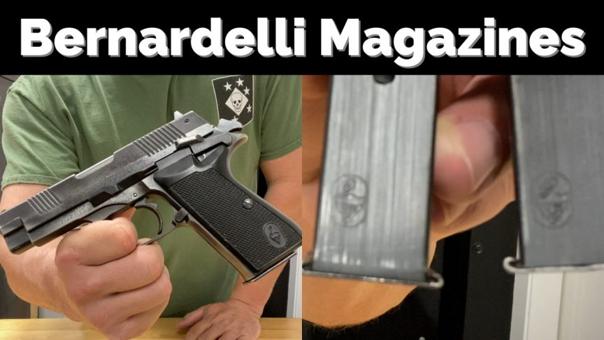 Bernardelli P.One Magazine.