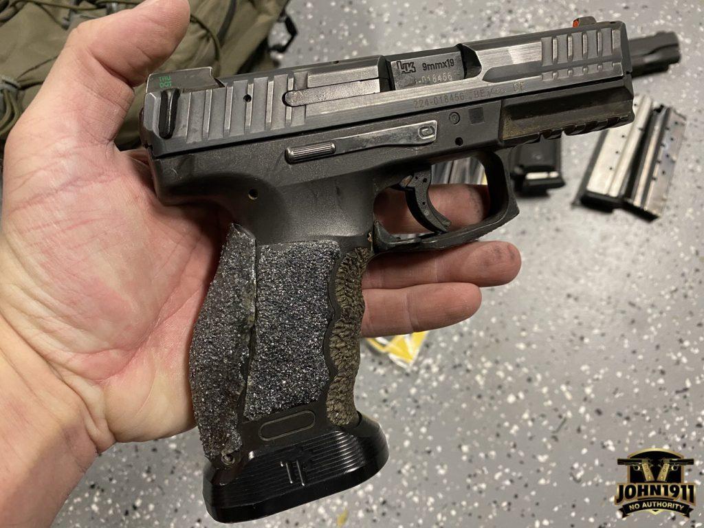 Missing gun found.