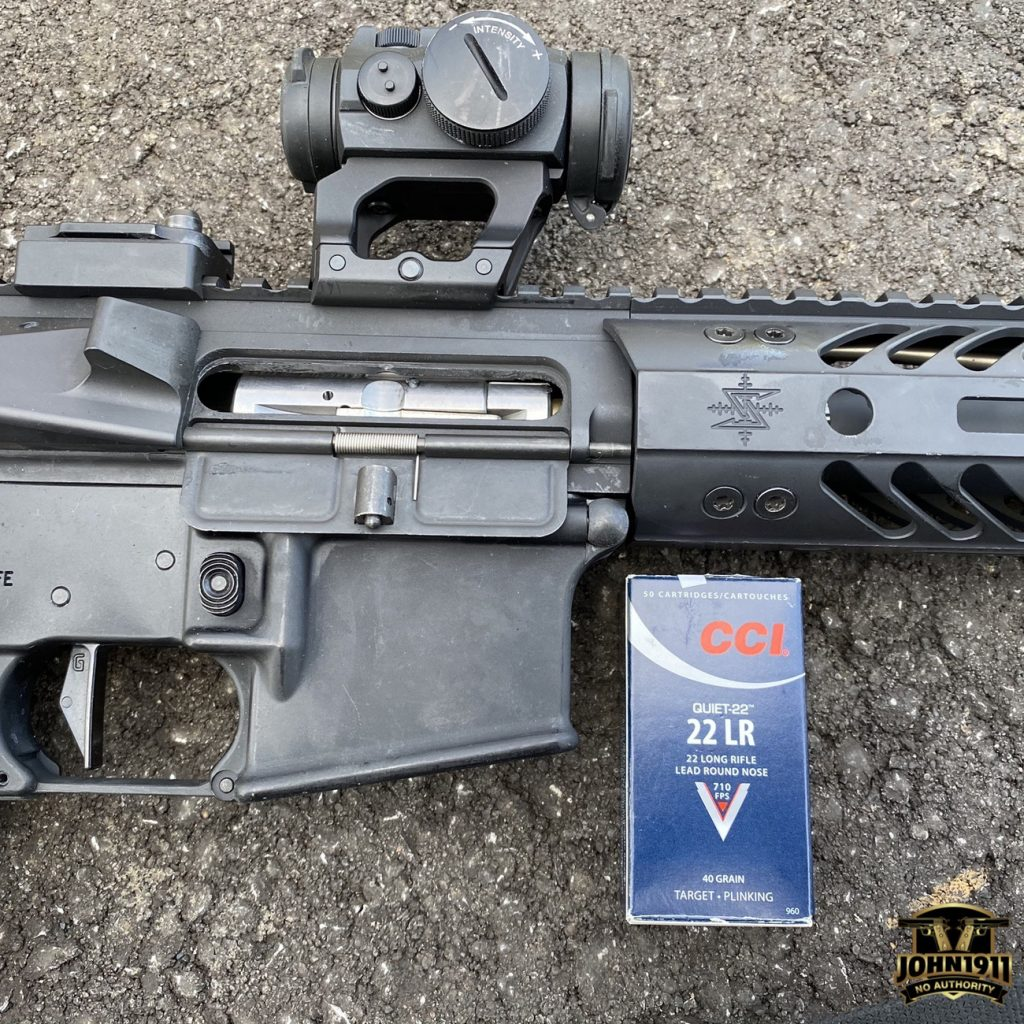 Thoughts on Suppressed 22 AR's.