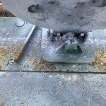 Plate Rack Maintenance. Falling plate rack.