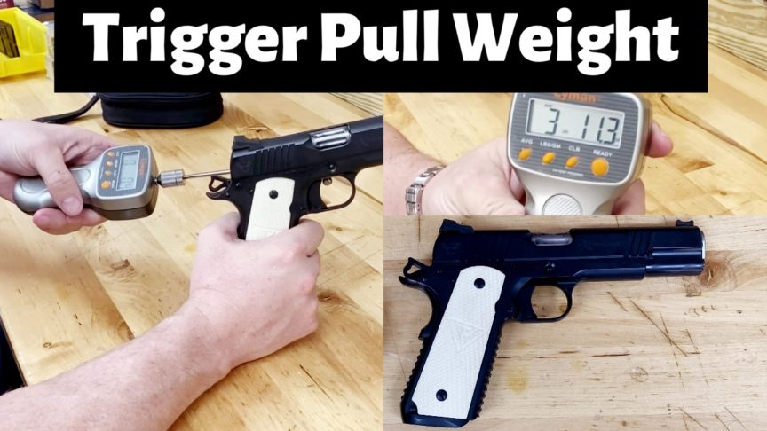 Wilson eXperior Trigger Pull Weight.