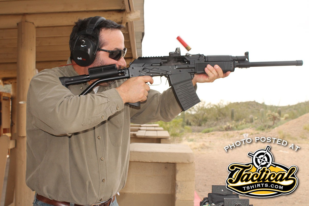 Recoil from even 3-inch loads was easily manageable.