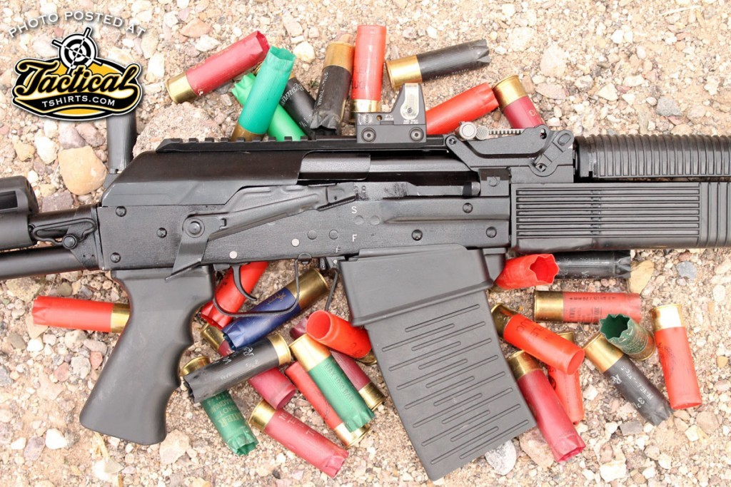 Reliability was 100% even with a variety of mismatched shells loaded randomly into the magazine.