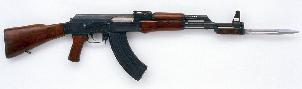 AK-47 Used By Good Guy
