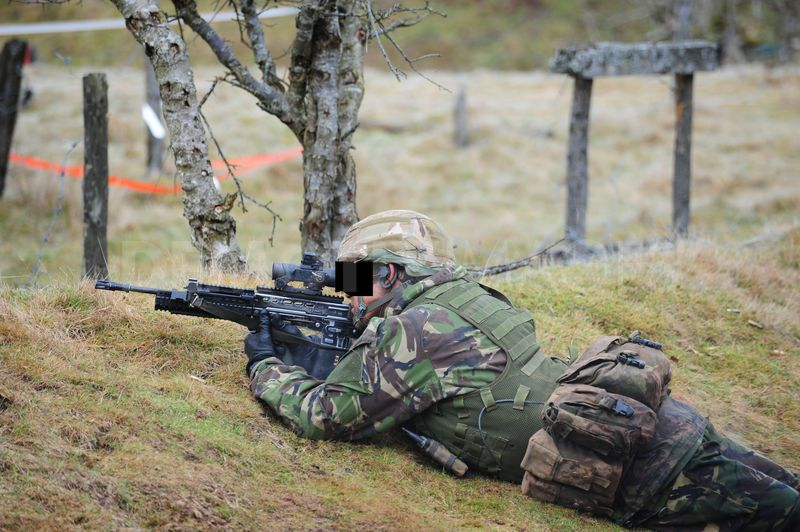 UK SAS at Brecon Beacons