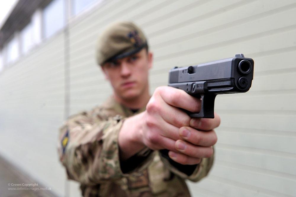 Glock 17 UK Solider