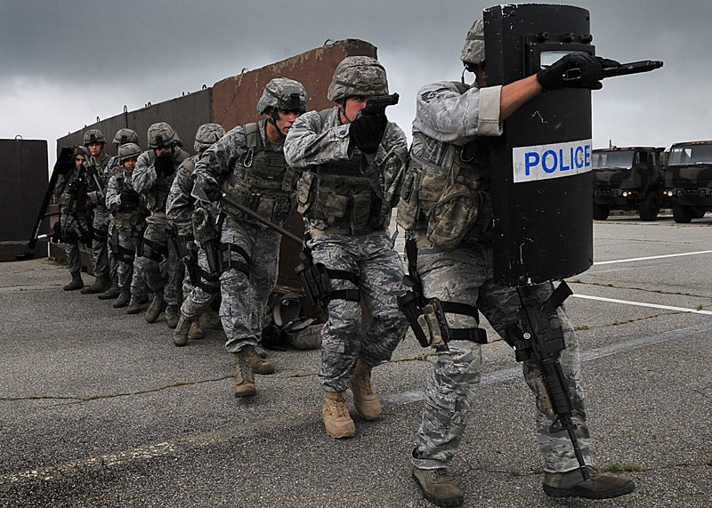 US Military Facility Security Forces