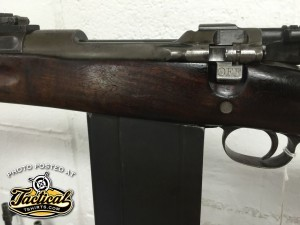 Up close of rare 1903 20 round mag variant.