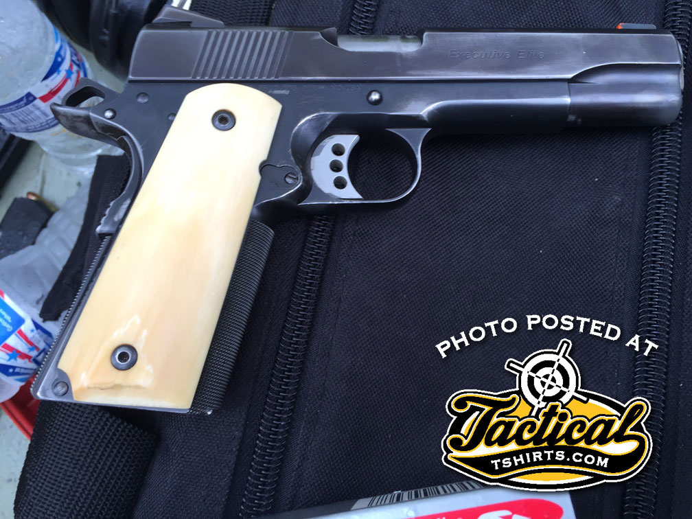 Ed Brown 1911 Old Work Gun.