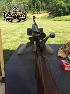 Winchester 52C Iron Sights
