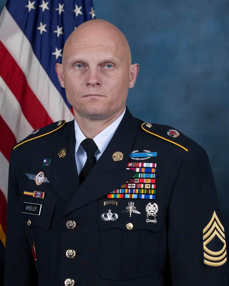 MSG. Joshua Wheeler, USA. KIA