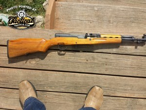 Notice how handy the SKS Rifle Is