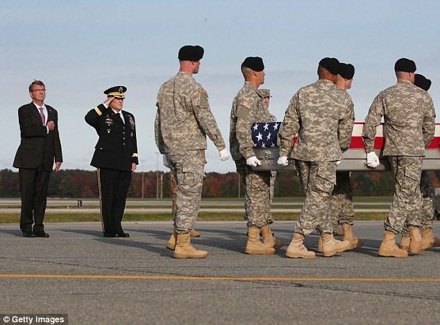 MSG. Joshua Wheeler's Body at Dover AFB