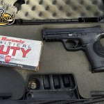 Hornady Critical Duty Ammo with M&P 40 & Smith & Wesson Shield
