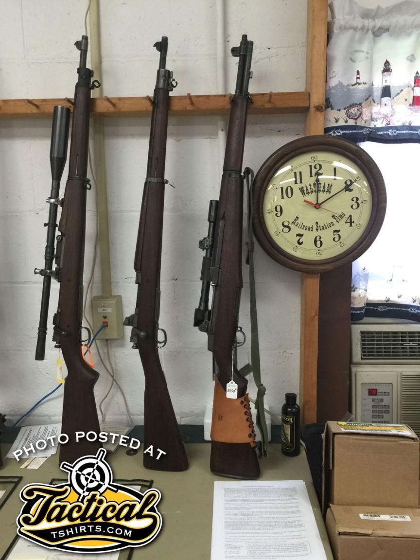 1903 Sniper M1 Garand Sniper