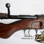A CZ Produced k98 Mauser Rifle