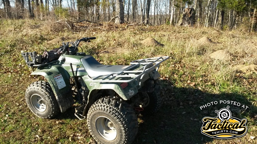 Freeze's 4-wheeler always starts when you don't need it to.