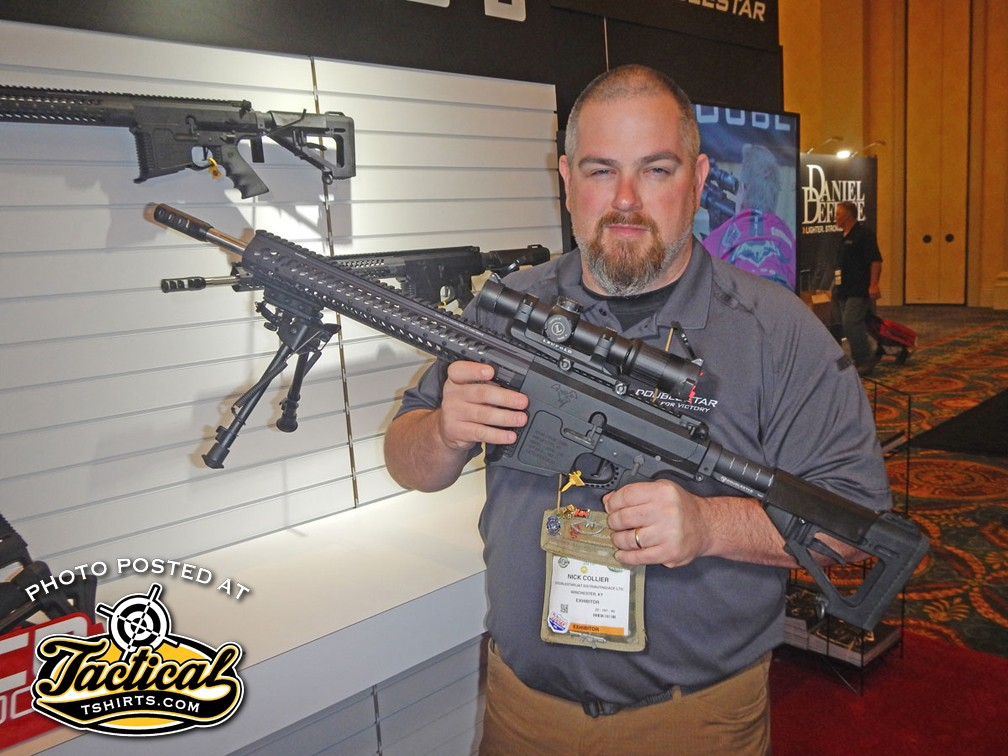 308 The Beast fully decked out at Doublestar booth 2016 SHOT