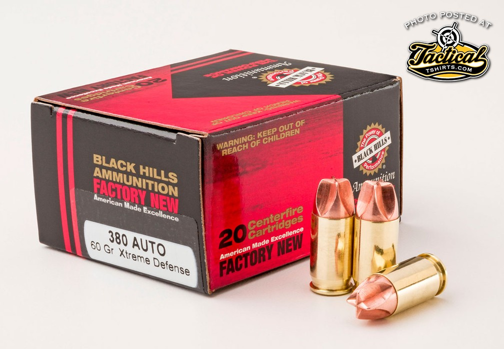 Blackhills 380 Xtreme all copper bullet