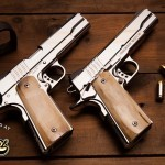 For The Shooter Who Has Everything (On Earth)–Cabot Guns Debuts Pistol Set Built From Meteorite