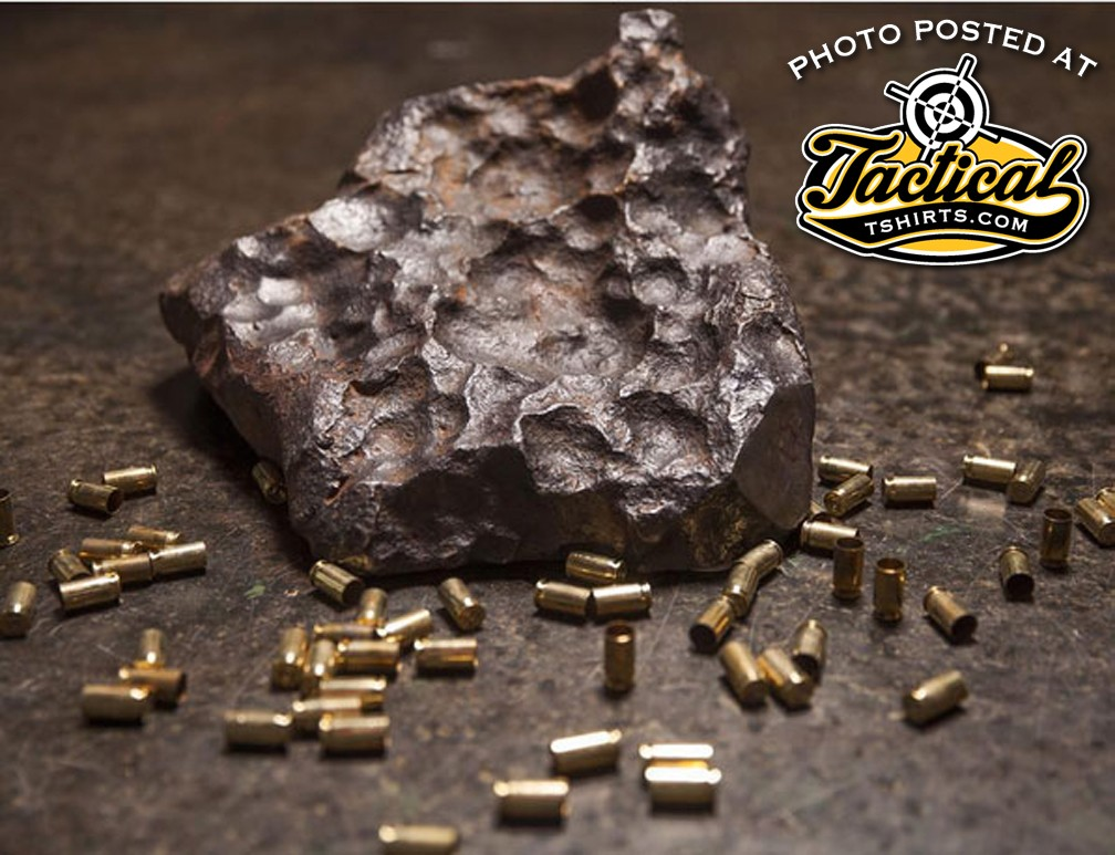 Gibson Meteorite used by Cabot Guns