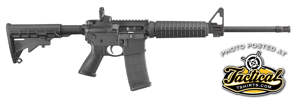 Ruger's new AR-556 is a direct-impingement AR-15-type rifle being made at Ruger's new plant in Mayodan, NC. For a base-model, it offers all of the familiar AR-15 features other companies eliminate to reach an entry-level price point.