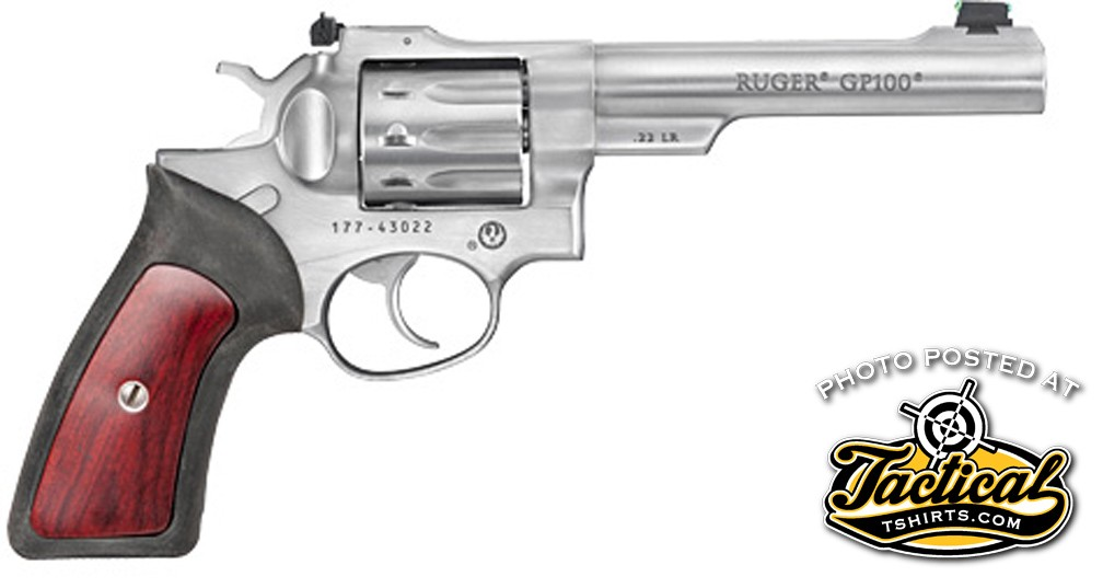 GP100 in .22 Long Rifle