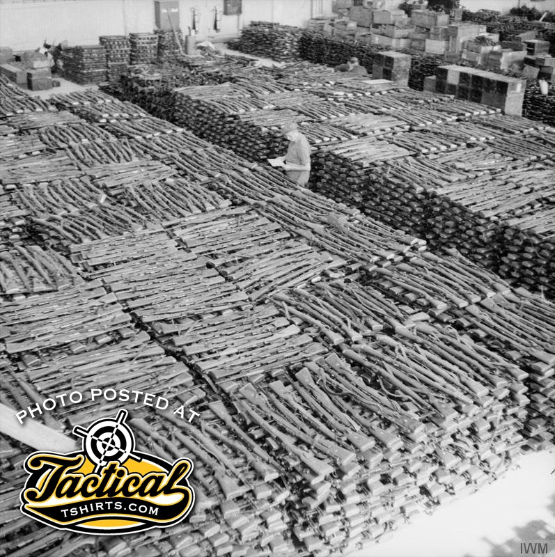 That's a lot of Mausers.