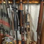 POTD — Gun Cleaning Rack in the Armory