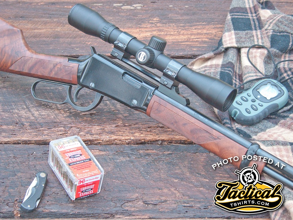 "One of the more ""radical"" of Henry's classically styled rifles is its Varmint Express chambered in .17 HMR. The rifle is a tack-driver."