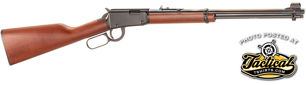 Lever-Action-22-Rifle: The flagship of Henry Repeating Arms is a classic rimfire lever-action rifle.