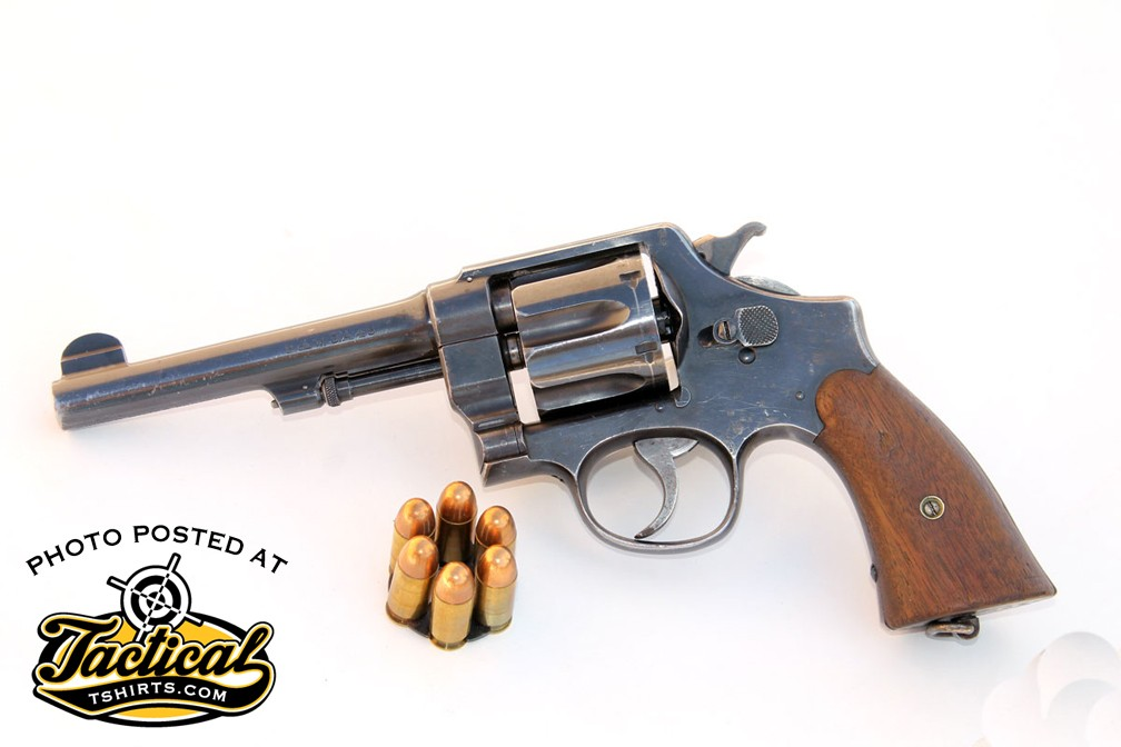 Original Model 1917 revolvers are getting hard to come by. If you find one, leave it original.
