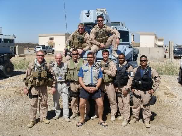 PMC's in Iraq 2000's.