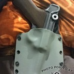 Kydex Holster for a WWII Luger