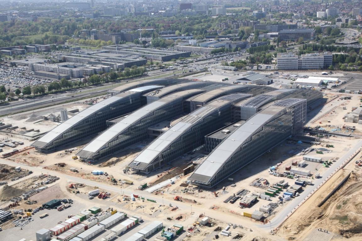New, Fancy NATO HQ facilities under construction.
