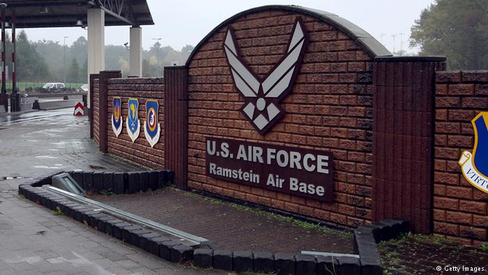 Ramstein AFB in Germany.