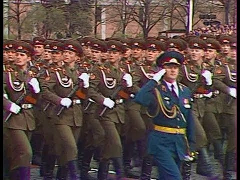 Soviet Troops on parade 1985