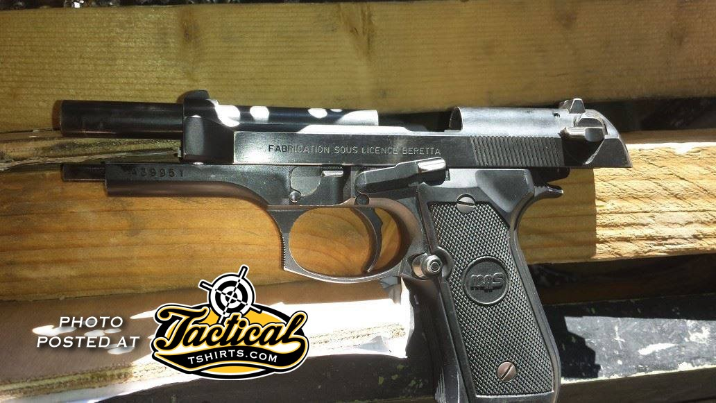 French Copy of Beretta 92 by MAS.