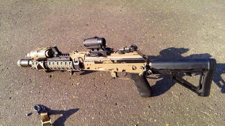 Modernized AK looks more and more like an AR.