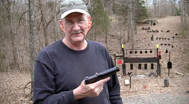 Hickok45 on his range